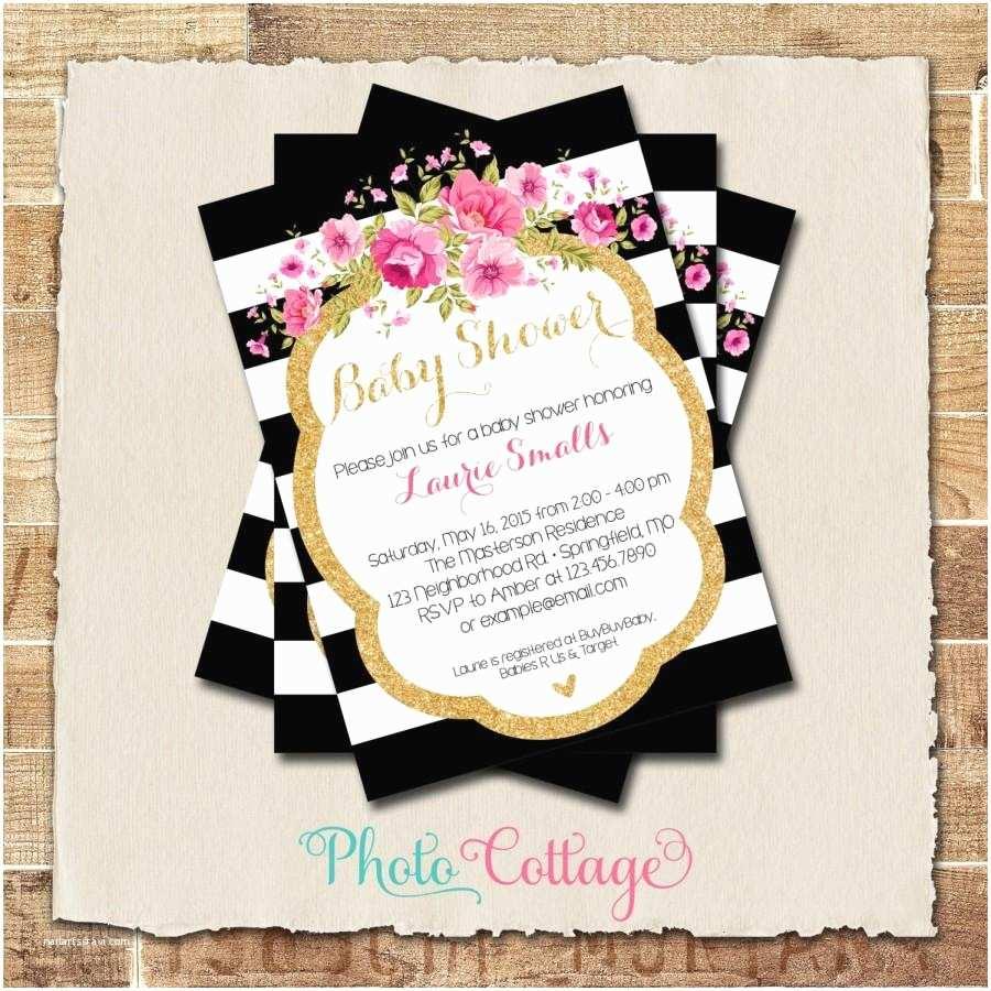 Pink Baby Shower Invitations Invitations Baby Shower Girl