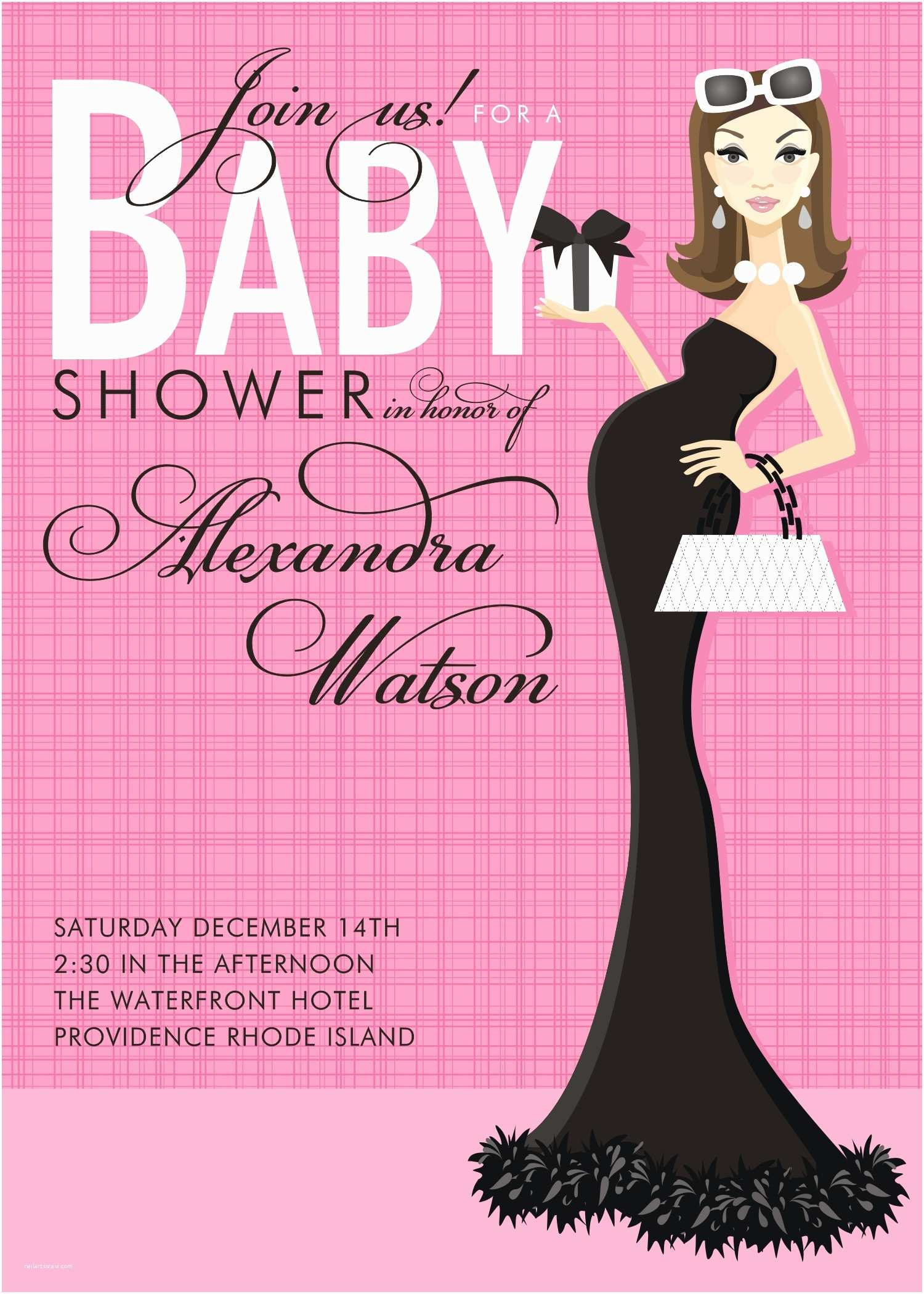 Pink Baby Shower Invitations Pink Baby Shower Invitations