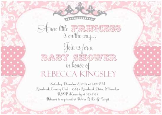 Pink Baby Shower Invitations the Wittle Babies On Pinterest