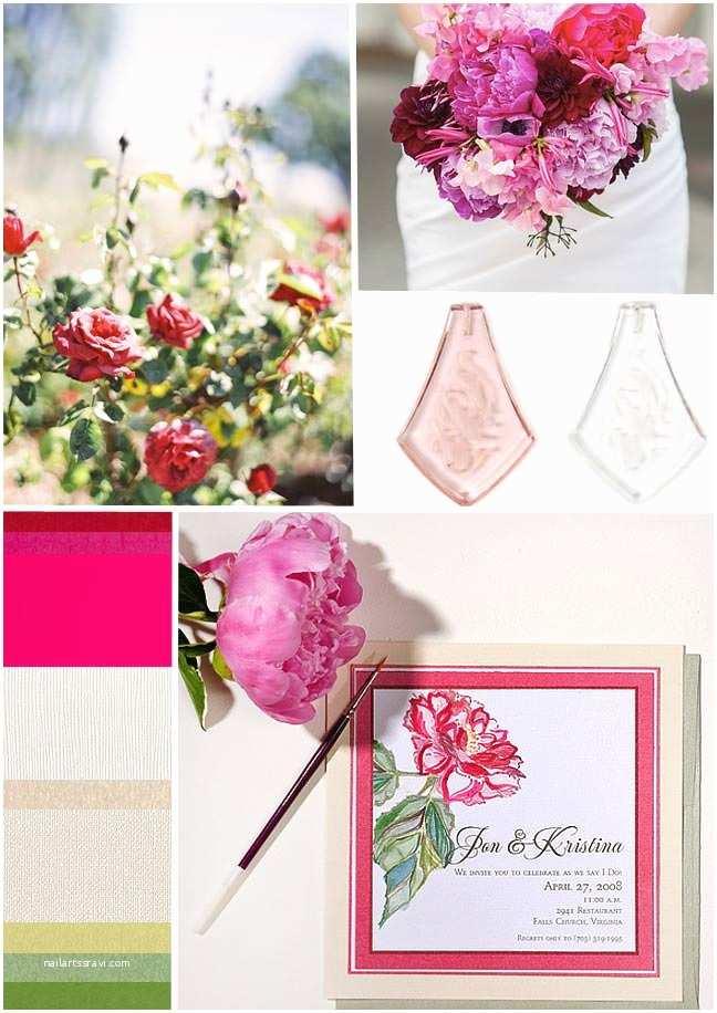 Pink Peony Wedding Invitations Inspirations Pink Peony Watercolor Wedding Invitations