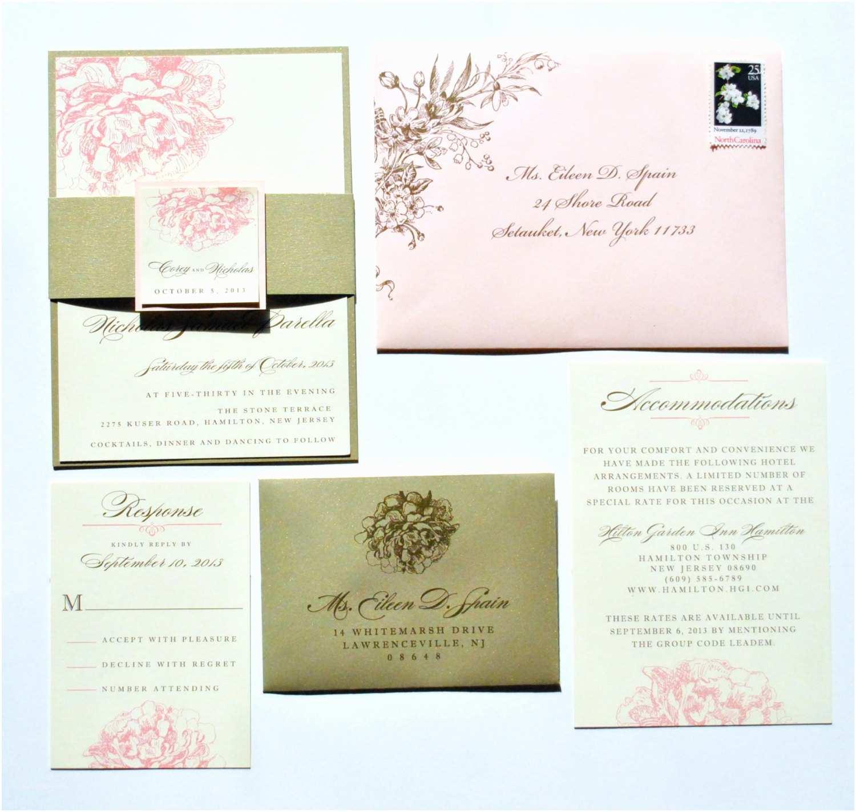 Pink Peony Wedding Invitations Peony Wedding Invitations Pink Peony Invitations Romantic