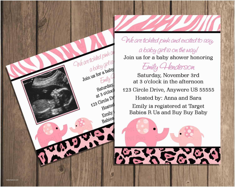 Pink Safari Baby Shower S Pink Safari Baby Shower Elephant Girl Baby Shower