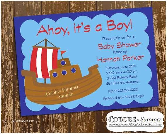 Pirate Baby Shower Invitations 28 Best Baby Shower Invitation Ideas Images On Pinterest