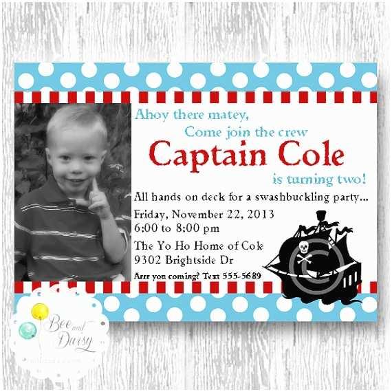 Pirate Baby Shower Invitations Pirate Invitation Pirate Birthday Party Invitation