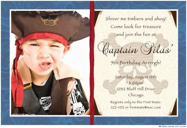 Pirate Birthday Invitations Pirate Birthday Party Invitation Wording Ideas