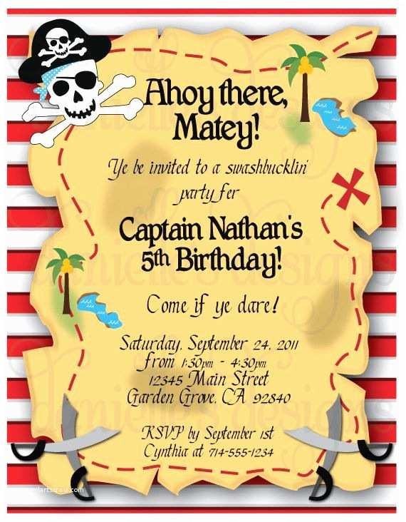 Pirate Party Invitations Pinterest • the World's Catalog Of Ideas