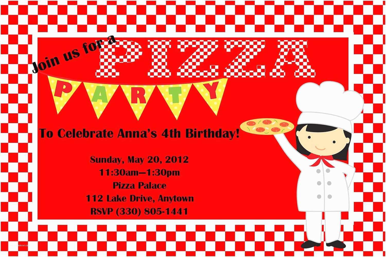 Pizza Party Invitations Sale Pizza Party Birthday Invitation Boy or Girl Chef