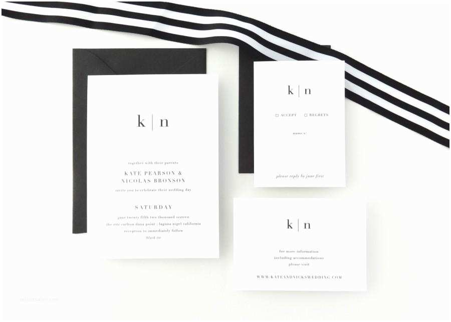 Plain White Wedding Invitations Paper Sample Kate Simple Wedding Invitation Save the