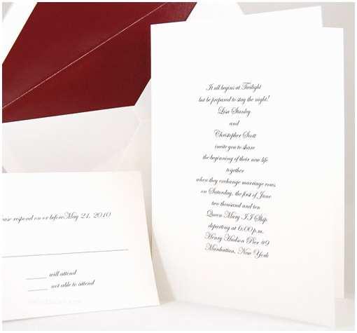 Plain White Wedding Invitations Plain Blank Wedding Invitation Fold Radiant White