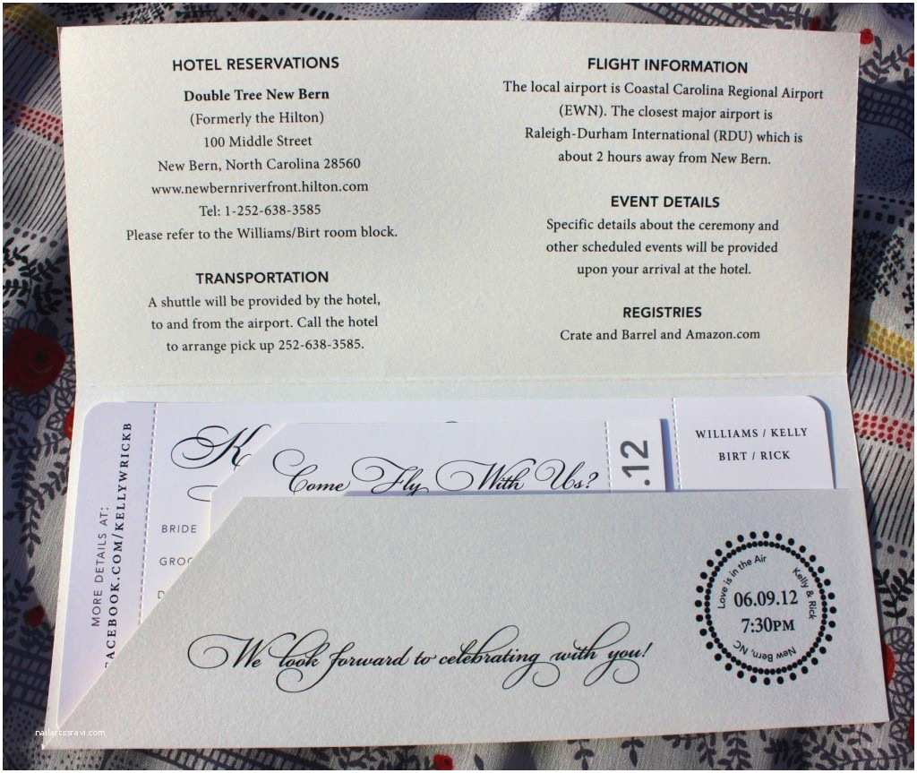Plane Ticket Wedding Invitation Template Free Airline Ticket Invitation Example Mughals