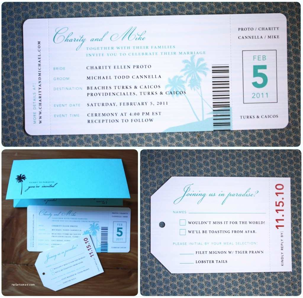 Plane Ticket Wedding Invitation Template Free Airline Ticket Invitation – orderecigsjuicefo