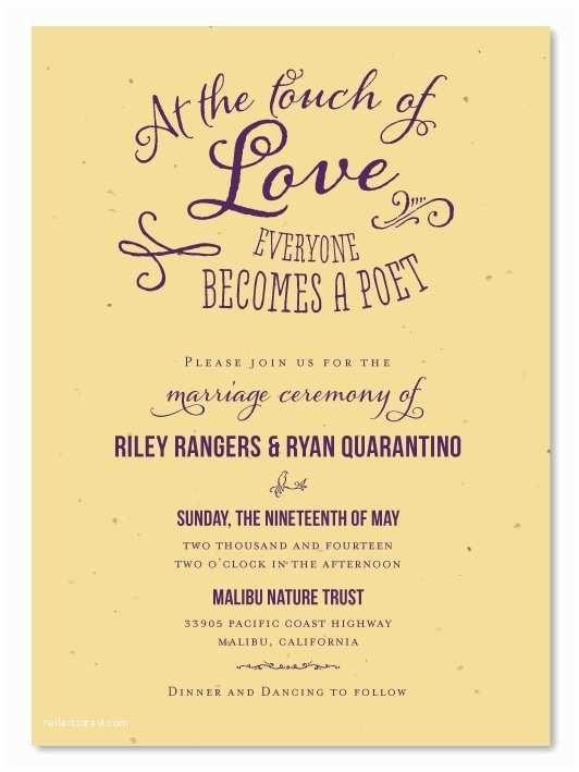 Plantable Wedding Invitations Cheap 166 Best Garden Weddings Images On Pinterest