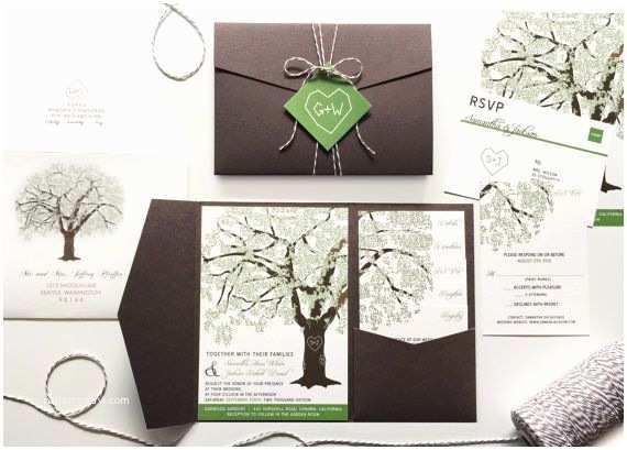 Plantable Wedding Invitations Cheap Best 25 Tree Wedding Invitations Ideas On Pinterest
