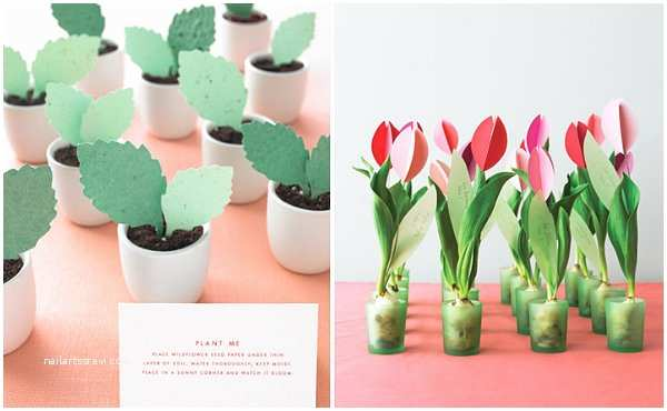 Plantable Wedding Invitations Cheap Diy Wedding Favors for Design Lovers
