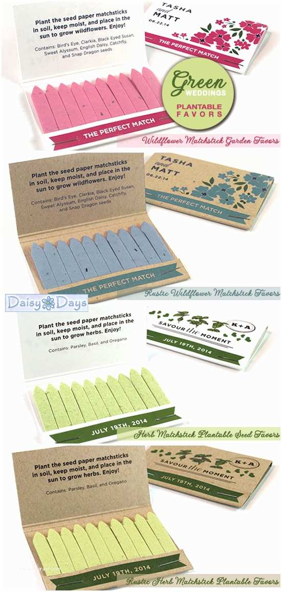 Plantable Wedding Invitations Cheap Go Green with Personalized and Plantable Matchstick Garden