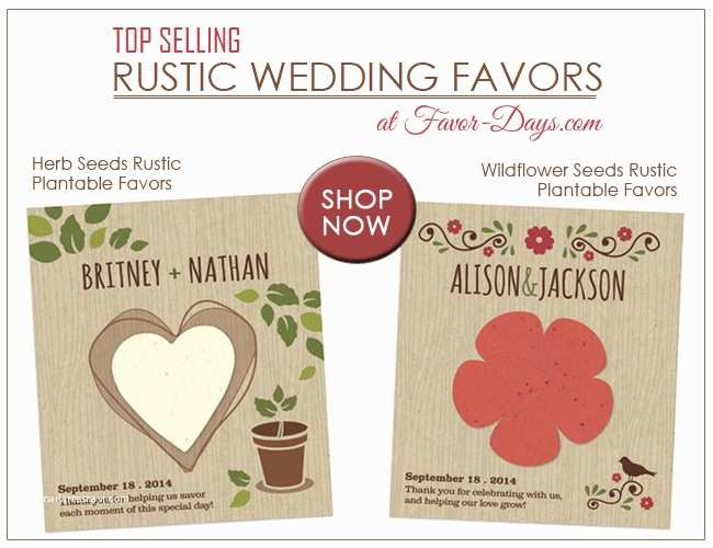 Plantable Wedding Invitations Cheap Plantable Wedding Favors the Perfect touch for Rustic