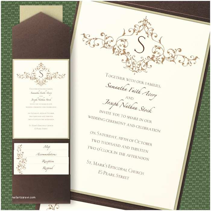 Pocket Style Wedding Invitations French Vintage Pocket Wedding Invitations Little Flamingo