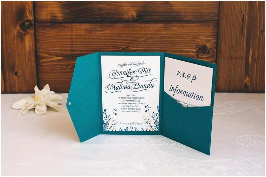 Pocketfold Wedding Invitations Imposing Pocketfold Wedding Invitations