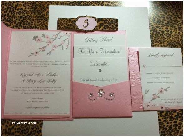 Pocketfold Wedding Invitations Wedding Invitations Pocket Template