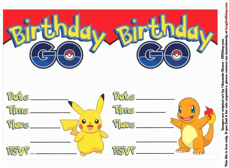 Pokemon Birthday Invitations 39 Best Pokemon Images On Pinterest