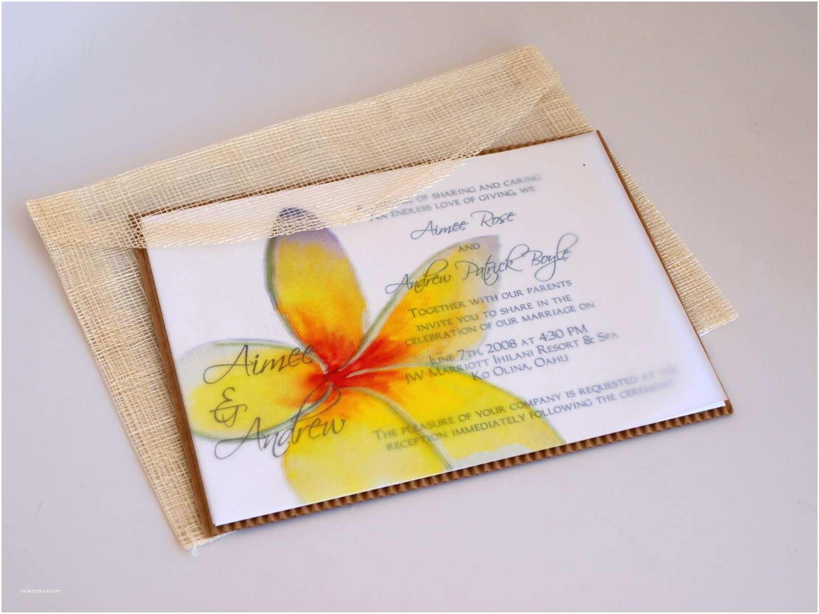 Polynesian Wedding Invitations Chr S Blog Hawaii Wedding Invitation