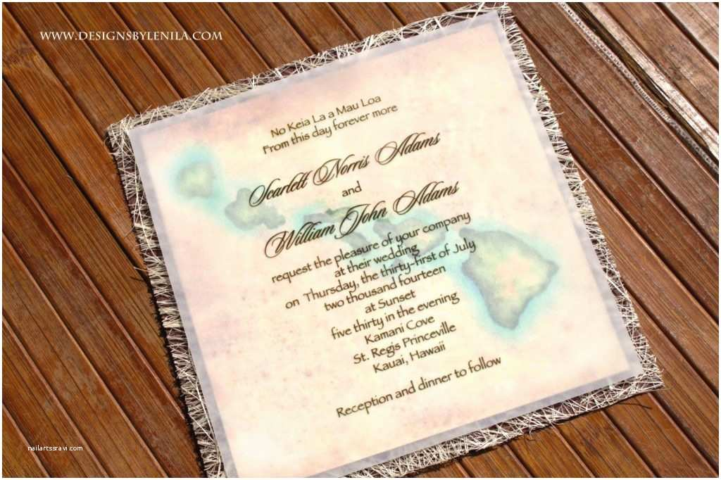 Polynesian Wedding Invitations Stunning Hawaiian Wedding Invitations Design Ideas