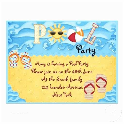 Pool Party Invitation Wording Pool Party Kids Ideas