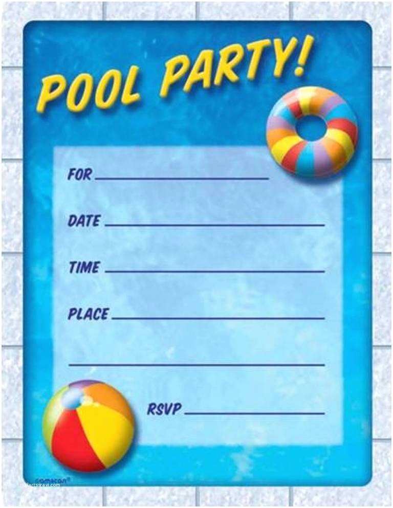 Pool Party Invitations Templates Free Free Pool Party Invitation Template – orderecigsjuicefo