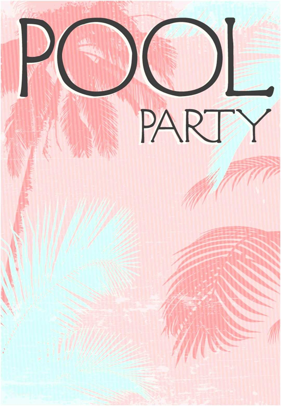 Pool Party Invitations Templates Free Summer Party Invitation Free Printable Fun In the Sun
