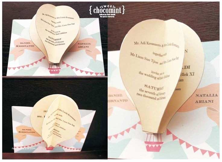 Pop Up Wedding Invitations 17 Best Images About Wedding Invitation On Pinterest