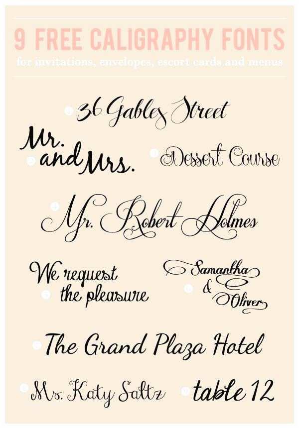 Popular Wedding Invitation Fonts 67 Best Wedding Fonts Images On Pinterest