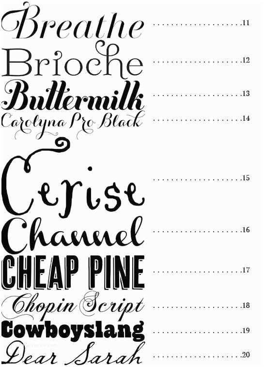 Popular Wedding Invitation Fonts Best Fonts for Wedding Invitations