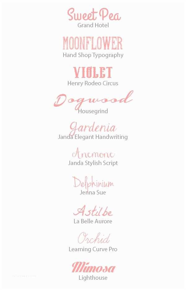 Popular Wedding Invitation Fonts Mind Blowing Free Fonts for Wedding Invitations