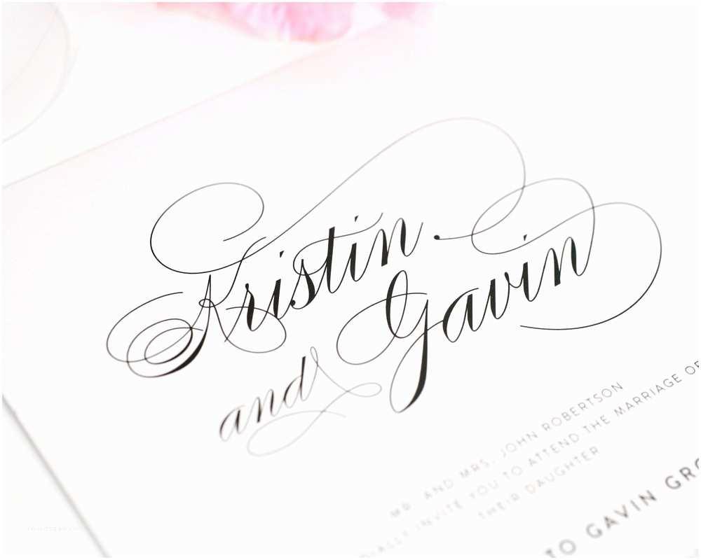 Popular Wedding Invitation Fonts top 10 Wedding Invitations