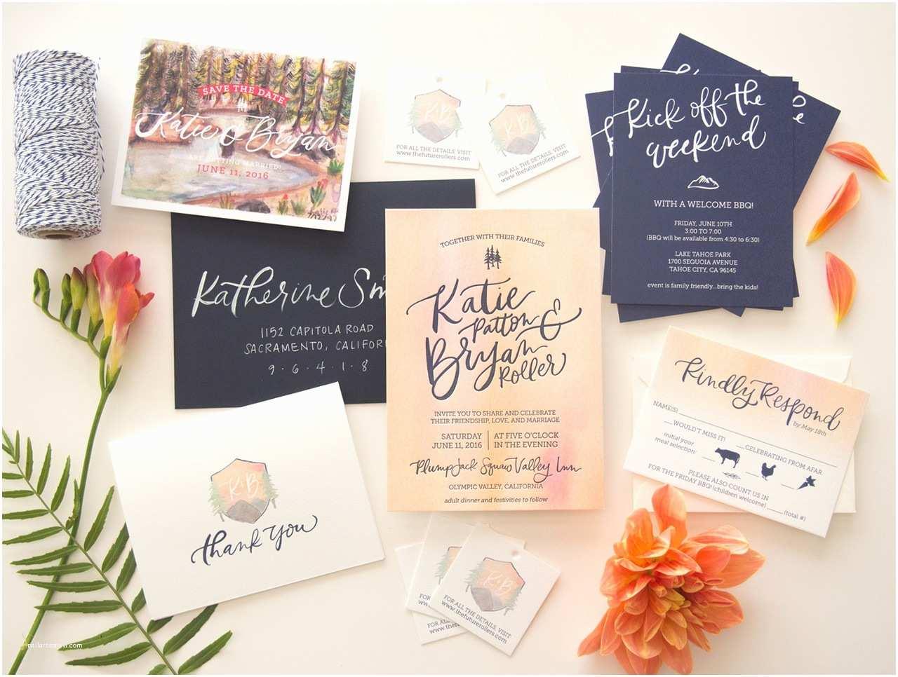 Popular Wedding Invitations the Best Wedding Invitations Of 2016