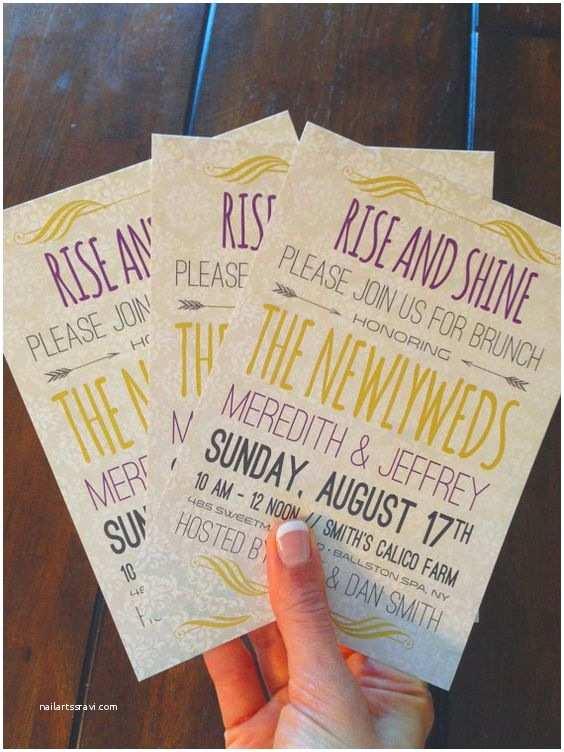 Post Wedding Breakfast Invitation Wording Brunch Invitations Brunch and Postcards On Pinterest