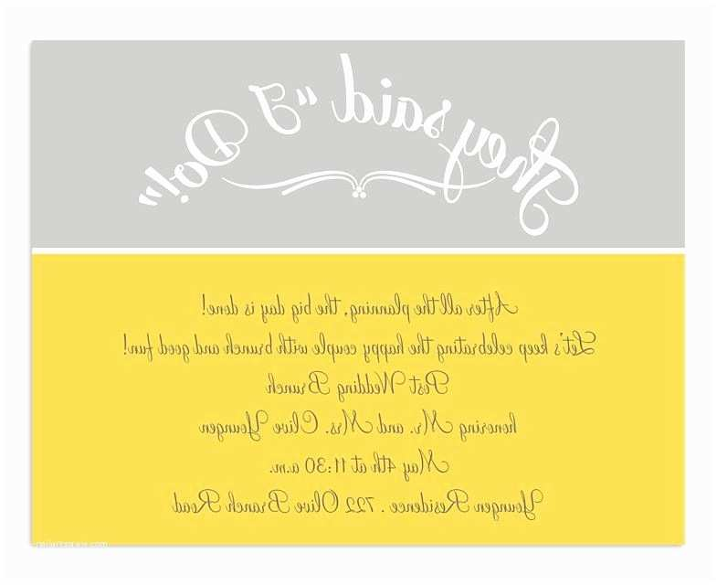 Post Wedding Breakfast Invitation Wording Perfect Post Wedding Brunch Invitations Crest Invitation