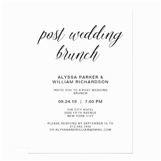 Post Wedding Invitations Post Wedding Reception Invitations & Announcements