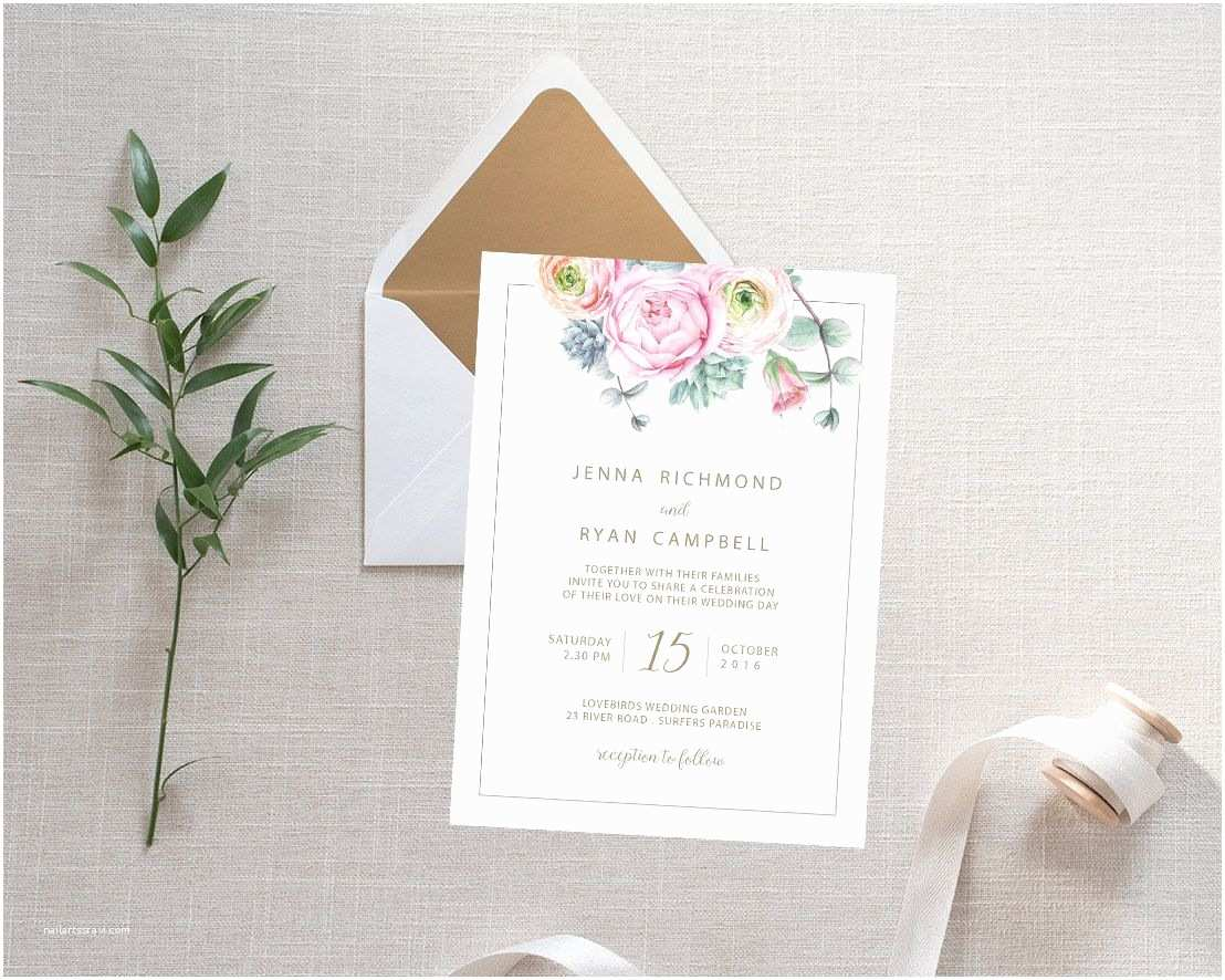 Post Wedding Invitations Wordings How to assemble Wedding Invitations Emily Post