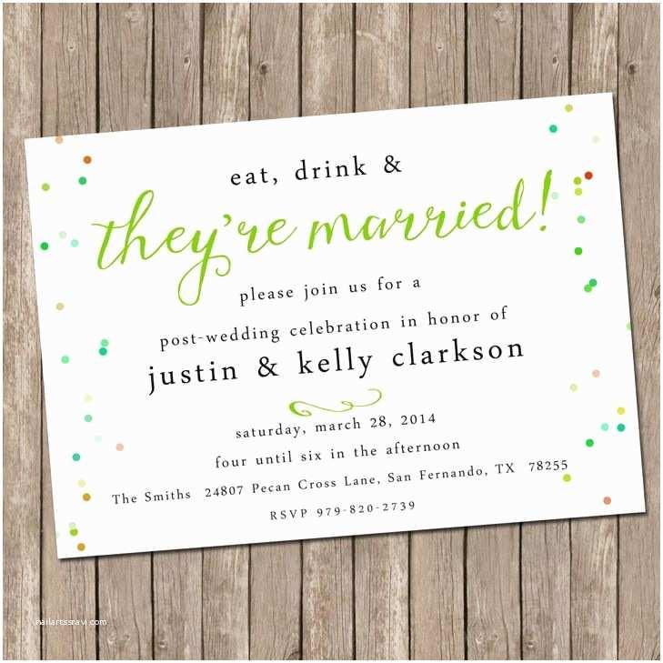 Post Wedding Reception Invitation Wording Our Favorite Post Wedding Brunch Invitations