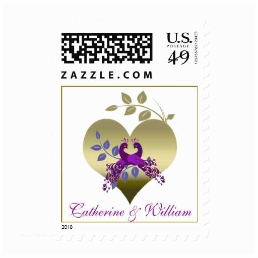 Postage Stamps for Wedding Invitations Love Birds Wedding Invitation Postage Stamp
