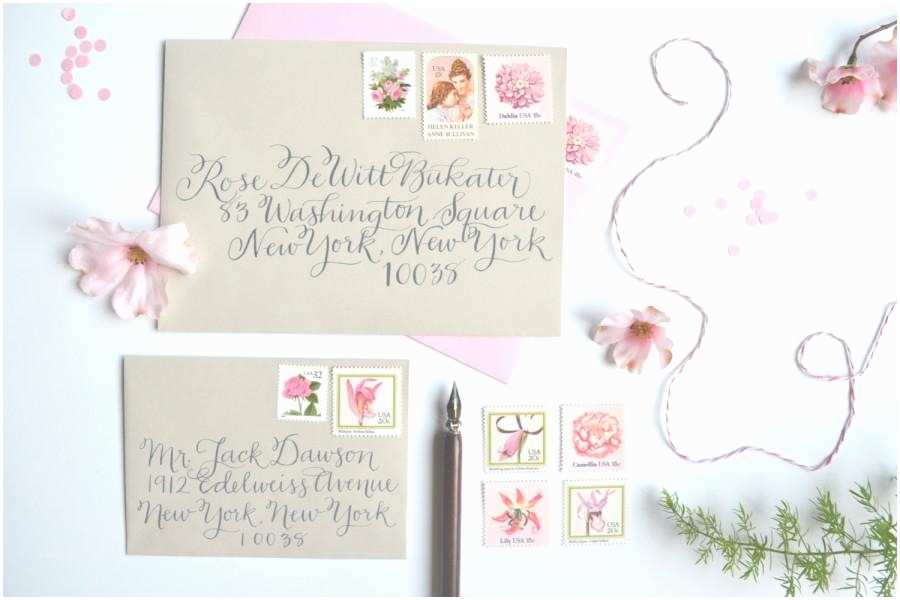 Postage Stamps for Wedding Invitations Pink Wedding Stamps Vintage Wedding Postage Stamp Pink