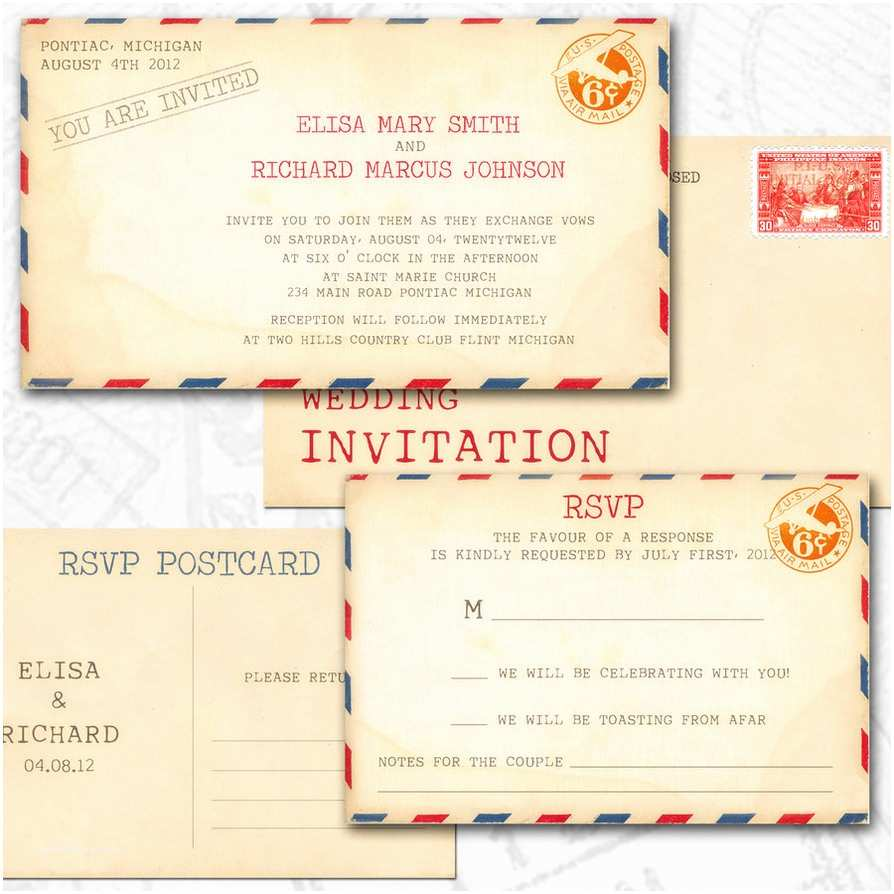 Postcard Wedding S 25 Cool Diy Wedding