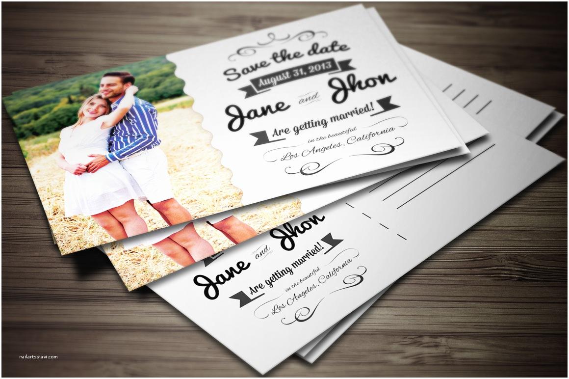 Postcard Wedding Invitations Elegant Wedding Invitation Postcard Invitation Templates