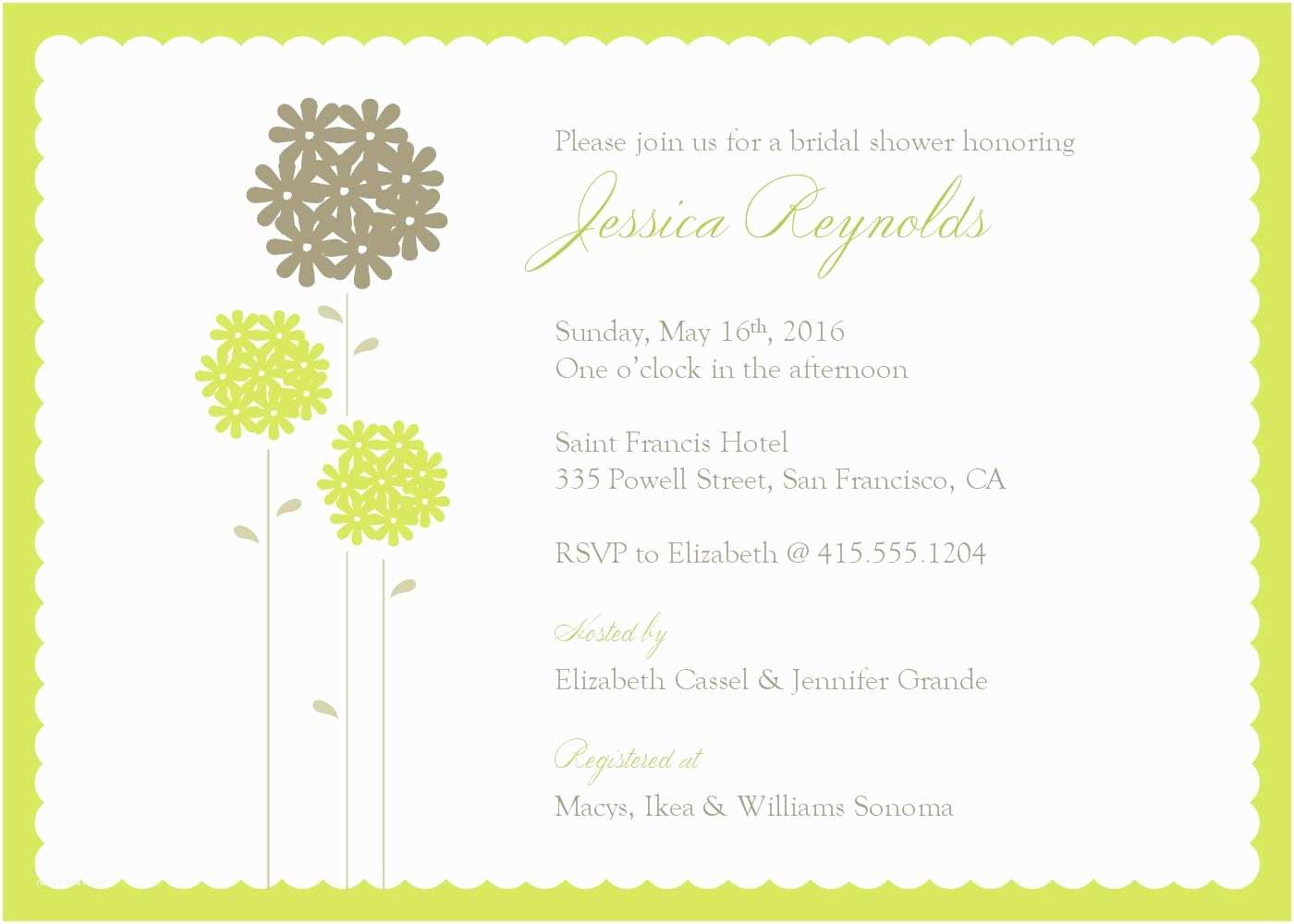 word templates for invitations