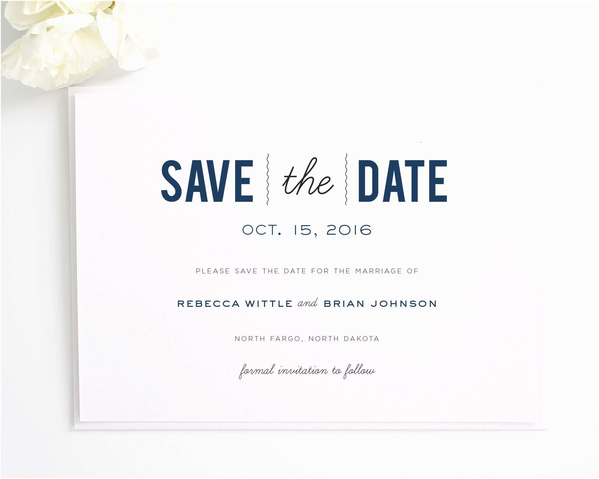 Postcard Wedding Invitations Template Save the Date Wedding Invitations Save the Date Wedding