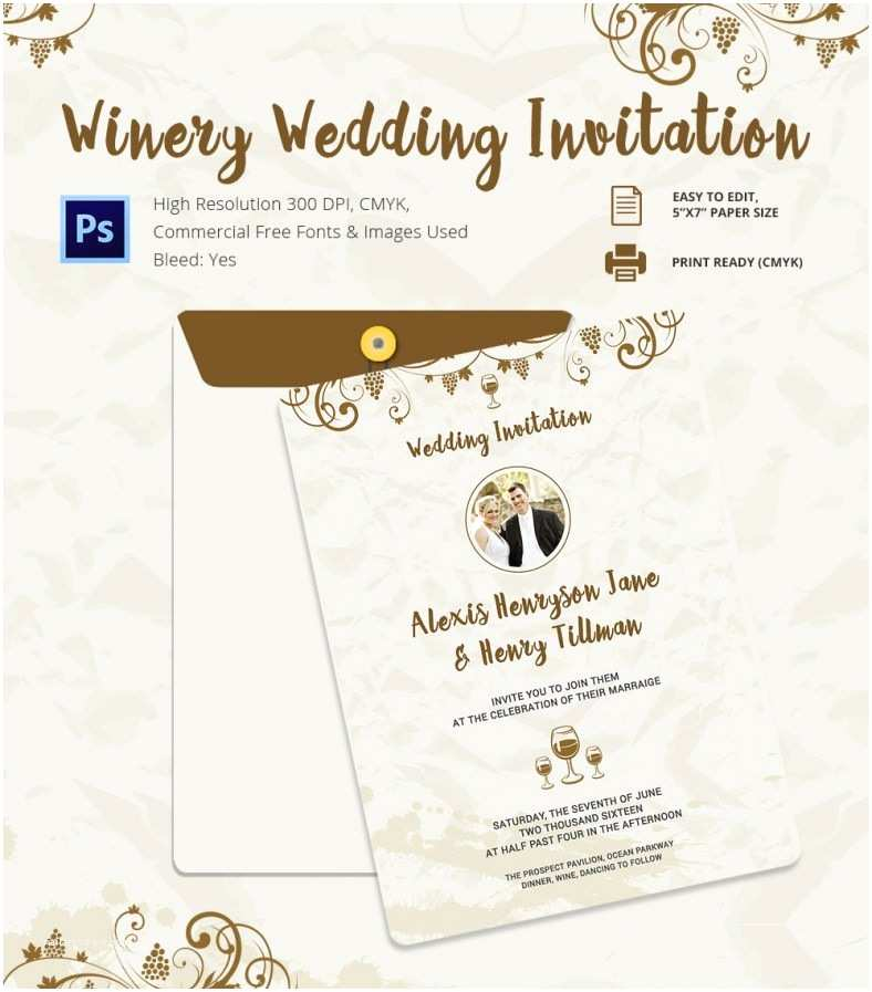 Postcard Wedding Invitations Template Wedding Invitation Template 71 Free Printable Word Pdf