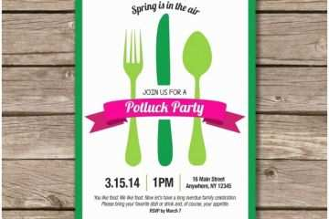 Potluck Party Invitation 25 Best Ideas About Potluck Invitation On
