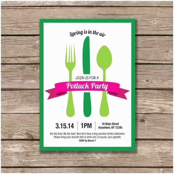 Potluck Party Invitation Best 25 Potluck Invitation Ideas On Pinterest