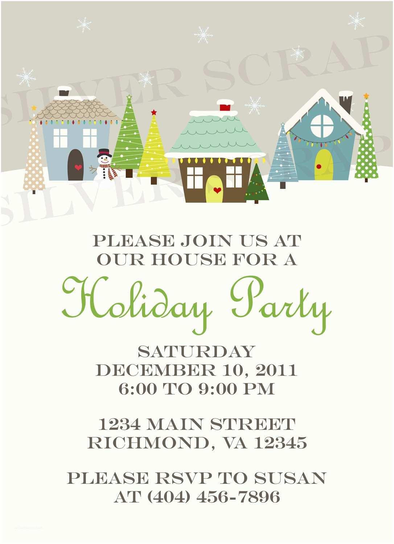 Potluck Party Invitation Impressive Christmas Potluck Party Invitation Wording